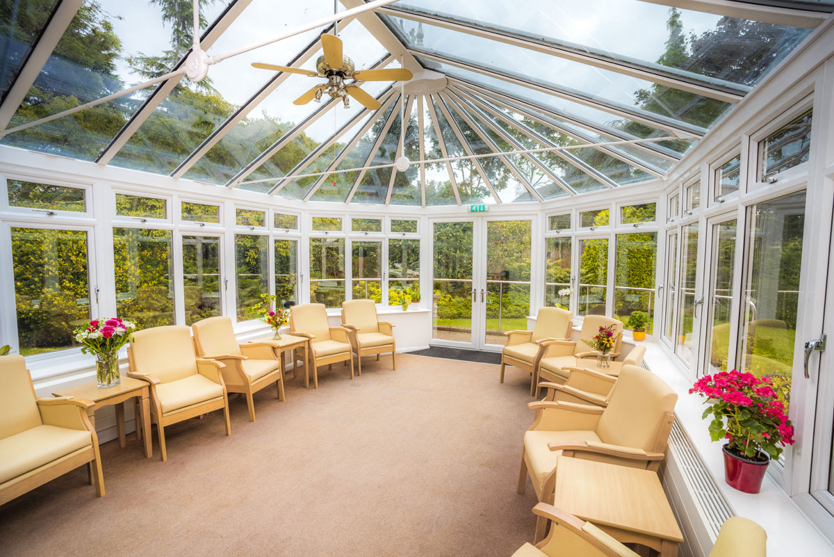 Avon Lee Lodge Christchurch Dorset Conservatory